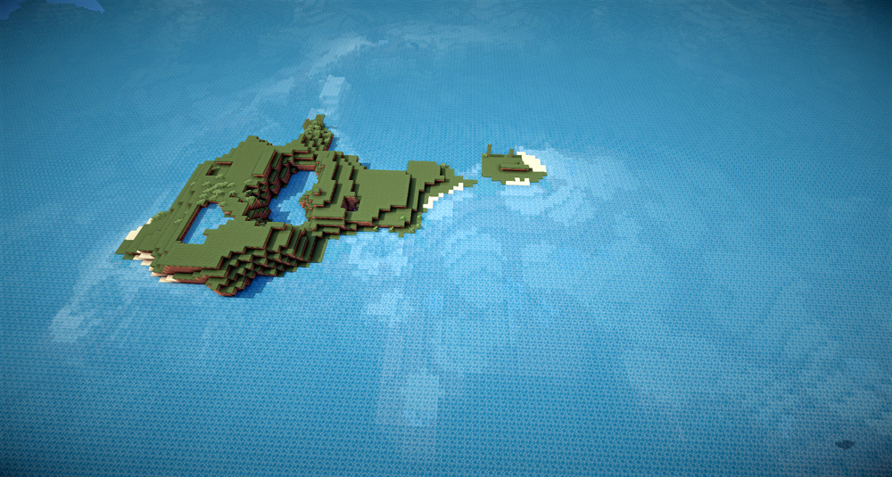 Ocean islands survival windwaker style seed added map views small scattered islands between expanses of ocean wait to be explored this is a great map for someone who wants to start a game with a bit of challenge at gumiabroncs Gallery